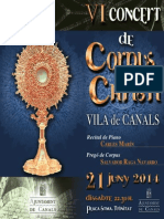 V Concet Corpus Folleto 2014