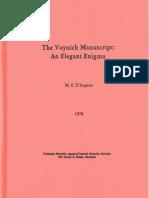 US Govt. Study of the Voynich Manuscript