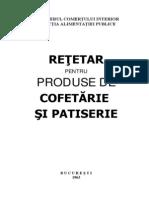 Retete Bucate Retetar Produse Cofetarie Si Patiserie