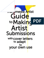 The Transmedia Artist Guide to Making Artist Submissions E-book