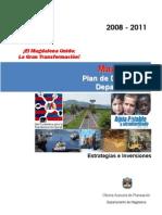 Magdalena Plan de Desarrollo 2008-2011 Ordenanza 008