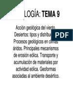 GEOLOGÍA EOLICA