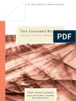 _Gadamer Reader - Late Works, Edited by Richard E. Palmer