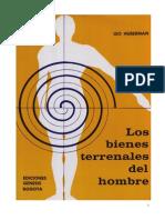 Los Bienes Terrenales Del Hombre Original