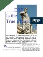 Where is the TRUE Church?