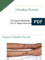 Purpura Schonlein Henoch