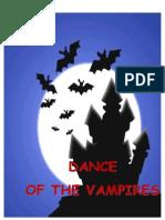 Dance of the Vampires (3rd Script)