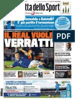 La Gazzetta Dello Sport - 10.06.2014