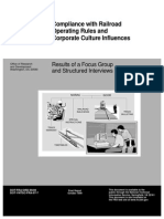 Operating Rules Compliance Report