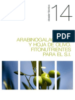 014 Arabinogalactanos y Hoja de Olivo. Fitonutrientes Para El S.I.