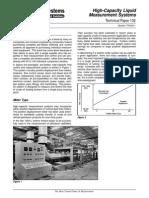 (TP0A011) High-Capacity Liquid Measurement Systems