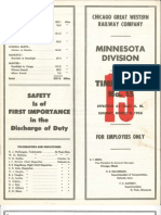 CGW Minn Div TT #15 Mar 8 1953