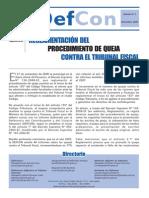 Boletin_defcon05-REGLAMENTACIÓN DELPROCEDIMIENTO DE QUEJA CONTRA EL TRIBUNAL FISCAL