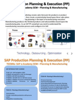 SAP Production Planning & Execution (PP)