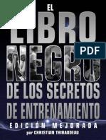 El Libro Negro de Los Secretos de Entrenamiento