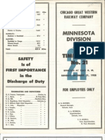 CGW Minn  Div TT #21 Dec 21 1958