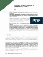 Loureiro e Pacheco Formação e Consolidação Do Campo Ambiental No