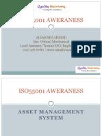 ISO55001:2014 Asset Management System