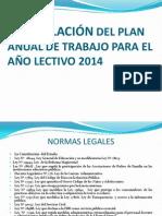 Formulación Del Plan Anualde Trabajo 20141