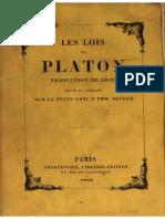 4 Platon Les Lois [Grou]