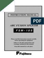 18S_Manual Fusion Splicer