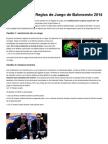 Cambios en Las Reglas de Juego de Baloncesto 2014