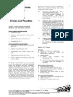 Ortega Notes Criminal law II