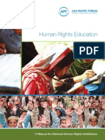 Human Rights Education Manual for NHRIs