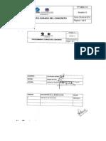 Pt-mcs-14 Procedimiento Para Curado de Concretos