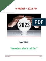 Mahdi in 2023
