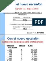 Aumento de suledo a maestros en ecuador