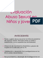 Diagnostico Clinico Del Abuso Sexual