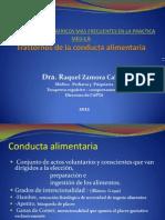 T.conducta Alimentaria 2012