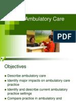 Ambulatory Care Medical Surgical Nursing Ppt