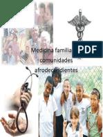 Medicina Familiar en Comunidades Afrodecendientes