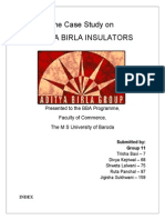 Aditya Birla Industry Analysis