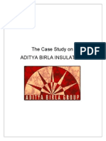 Aditya Birla Industry Analysis