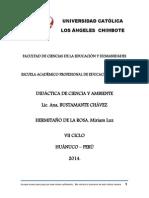 Didactica de Ciencia y Ambiente Imprimir