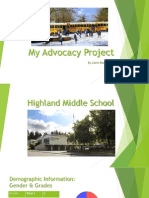 final advocacy project