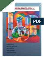 Agentes Tensoactivos Nuñez Paucar Basates Silva Lopez