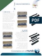 T&U Cables Y Coexiones - Brochure