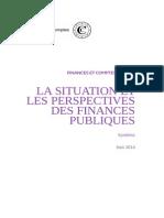 Cour des Comptes Synthese Rapport Situation Perspectives Des Finances Publiques 2013