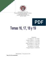 Informe de Familia Temas 16 17 18 y 19