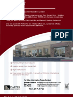 Las Vegas Retail - Eastern and Sunset - 1 space available