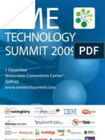 SME Technology Summit 2009 Showguide