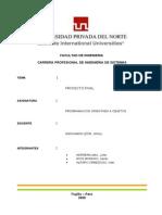 Informe Proyecto Poo
