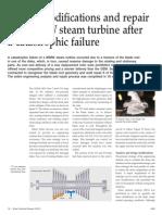 Design m Odifications and Repair of a 90 Mw Steam Turbine Sultzer 17 Jun