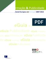 EGuia Informativo Das Regras IP FSE 20072013