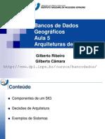 Bancos de Dados Geografico