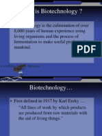 What is Biotechnology